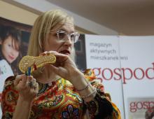 """Na Spotkaniu gościliśmy autorkę bloga """"Okiem Doktor Luizy"""":  dr Luizę Napiórkowską."""