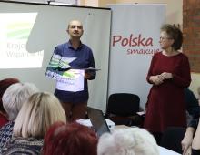 Prezentacja działalności Krajowego Ośrodka Wsparcia Rolnictwa.